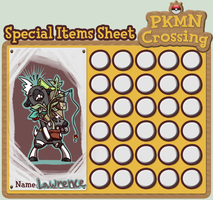 PKMNCrossing Special Items by BrainDeadMareep