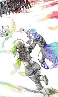 A companion to forever Nalu by lillia-hime