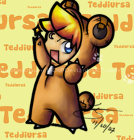 Pokekid Teddiursa by Miniatureowl
