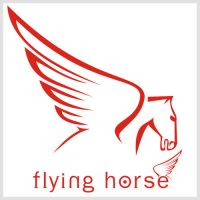 Flying Horse logo by e-dexign