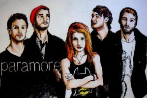 Paramore by mynamescrizelle