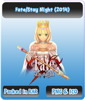 Fate Stay Night (2014) - Anime Icon by Rizmannf