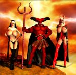 Angels of Darkness by Chup-at-Cabra