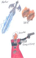 Devil May Cry by stevemacqwark