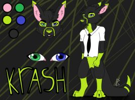 Krash roo reference by A-Grey-Dream