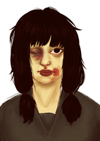 Zombie Girl by Thystle