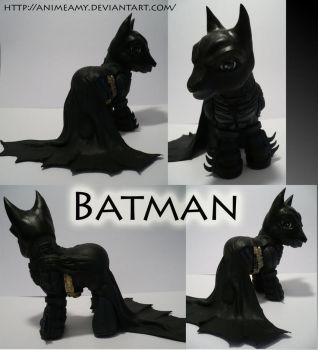 Batman from the Dark Knight by customlpvalley