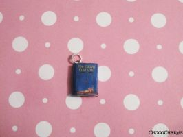 The Great Gatsby Book Charm by ichigoluv