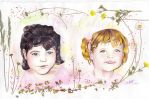 Portraits enfants by gadounelfe