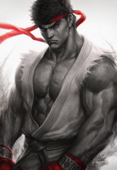 Ryu Fury by Artgerm
