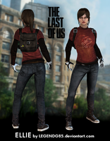 The Last of Us - Ellie by legendg85