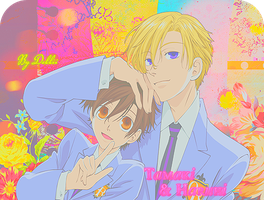 Ouran Host Club ~ by debbiichan