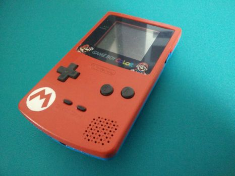 GameBoy Color Mario - Right by J-Joker