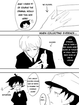 when collecting evidence... by kyunyo