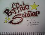 Buffalo Soldier by andietheclown