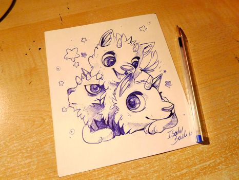 Inktober Day 21 by tikopets