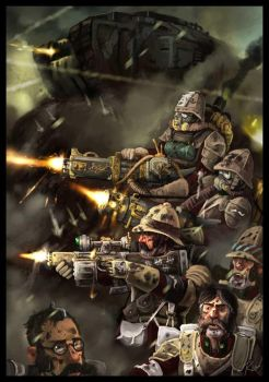 british hold the line by Robin-Carey
