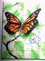 butterlfy puzzle by HalimawNgaEh