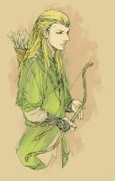 Maybe he is Legolas haha by luthienelf