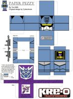 KRE-O Soundwave Paper Prezzy by Tim1995