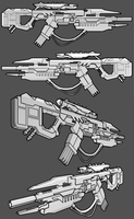 Chimera Augur-WS Rifle by thefirewarriors