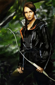 Katniss Everdeen by JtDaniel