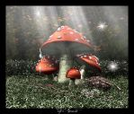 Fly Amanita by c-ramgfx