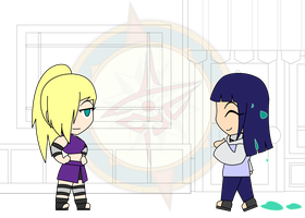 Chibi Chain - Slimed - Meeting Ino by Dragon-FangX