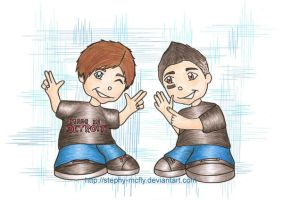 When the MMG were young by Stephy-McFly