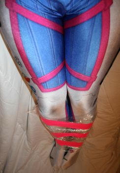 D.va Taped Legs 4 by Lady-of-Mud