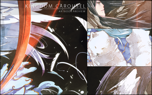 Kingdom Carousel Art Book Preview by wickedAlucard