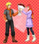 Commission: Valentine Naruto and Karin by manu-chann
