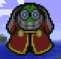 Minecraft Fawful Statue by myvideogameworld