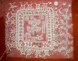 Warli Painitings 04 by rajooda