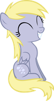 Filly Derpy Vector by AnEvilZebra