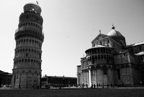 Leaning Tower and Cathedral by BiodiVersitY