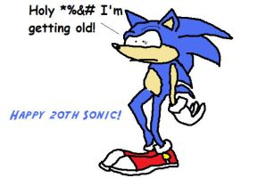 Sonic turns 20 by Phycosmiley