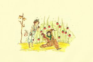 Romano and the Scarecrow by edwardsuoh13
