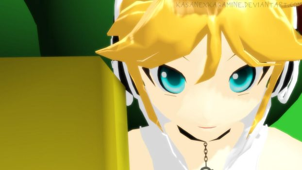 MMD newcomer: Len Append Animasa ver. + DL by kasanexkagamine