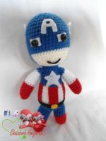 Captain America ~ by franfalla