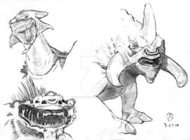 Sketchpad: Beasts Of The Arena by JasonShoemaker