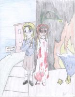 Carrie White's two sides by bloodyhannah