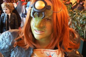 Ganondorf cosplay close-up by crimsontriforce