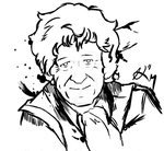 Brushpen Art- Jon Pertwee by DoctorSiggy