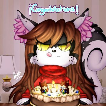 .:Happy Birthday to me :3 :. by MimiGuerrero