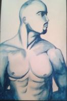 Tupac Water colour by SilentEchoDC