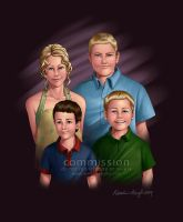 COMMISSION: Grandkids by KrisCynical