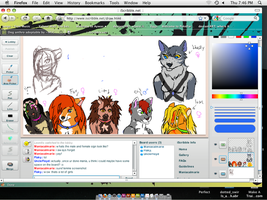 Iscribble Chararcters by maniacalmarie16