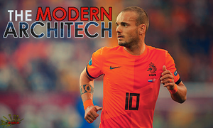 Wesley Sneijder - The Modern Architect by afiqreza7
