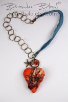 Flamesea Necklace by TinfoilHalo